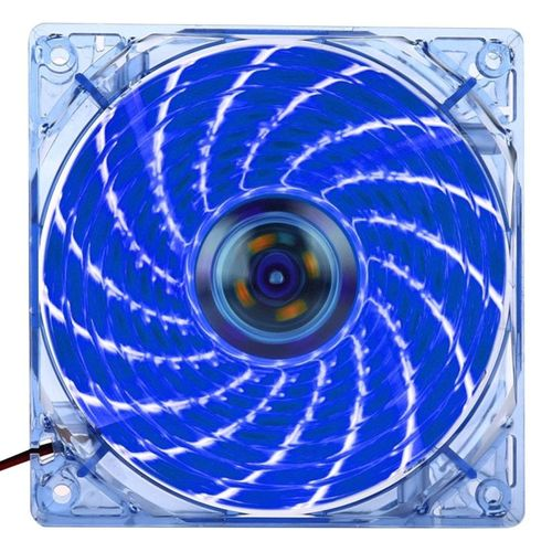 Blue Quiet CPU Cooling Fan 4Pin Cable 12 LED CPU Cooler Gazechimp Dual Heatpipe Dual