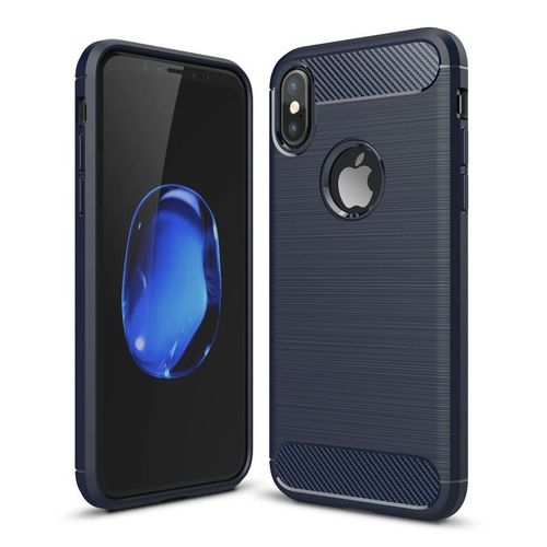 -52-for-iphone-x-carbon-fiber-tpu -brushed-texture-shockproof-protective-back-cover-case-navy-1216195153_L.jpg