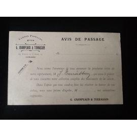 Top Collection G Champeaud Et Terrasson Limoges Cartes Postales Magasin D Expéditions