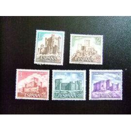 España Spain Espagne 1972 - CASTILLO - CHÂTEAUX - Edifil Nº 2093 / 2097 ** Yvert Nº 1747 / 1751 ** MNH