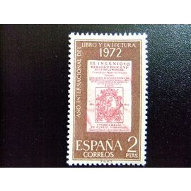 España Spain Espagne 1972 - año del libro - JOURNÉE DU LIVRE - Edifil Nº 2076 ** Yvert Nº 1730 ** MNH