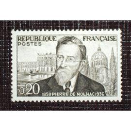 FRANCE N° 1242 neuf sans charnière de 1960 - 20c noir et gris « Centenaire de la naissance de l'historien Pierre Girauld de Nolhac »
