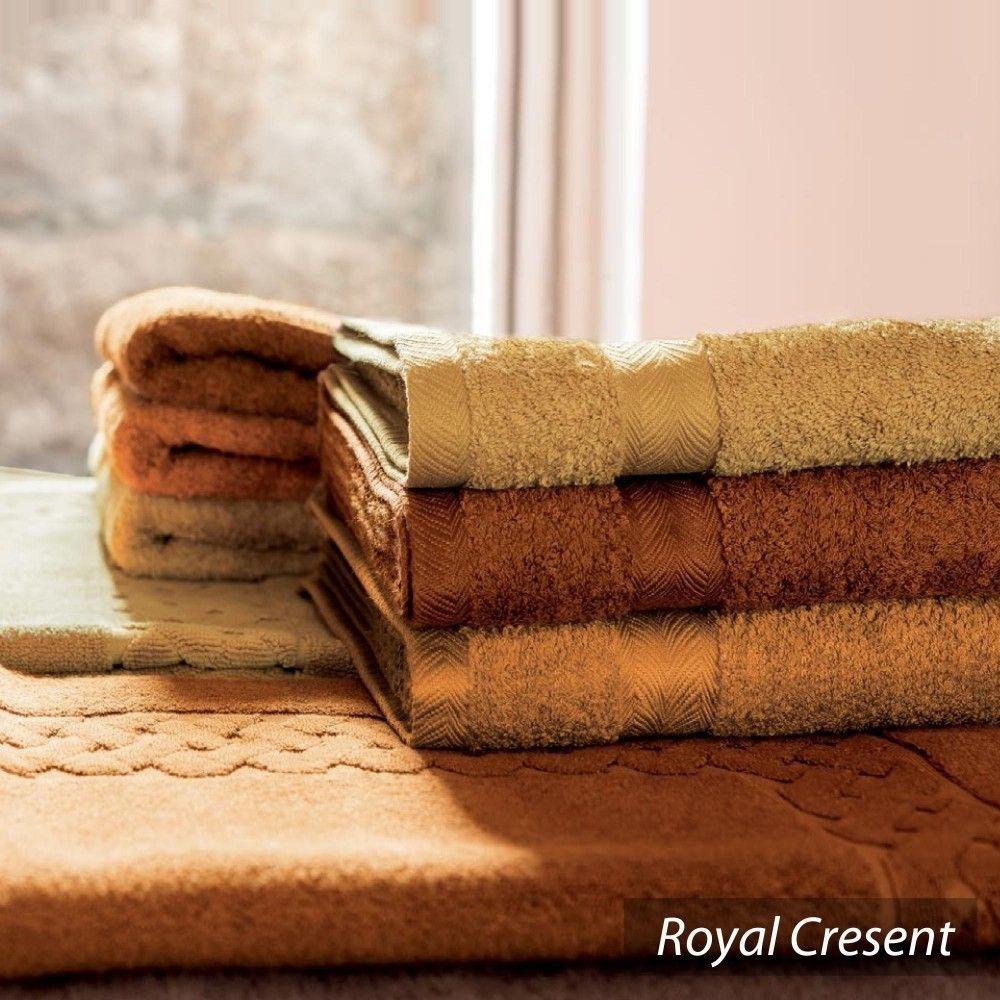 Serviette de Toilette 50x100 cm Royal Cresent Rose Lavande 650 g//m2