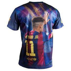 N/°11 Collection Officielle Taille Adulte Homme Bar/ça Fc Barcelone T-Shirt Neymar Junior