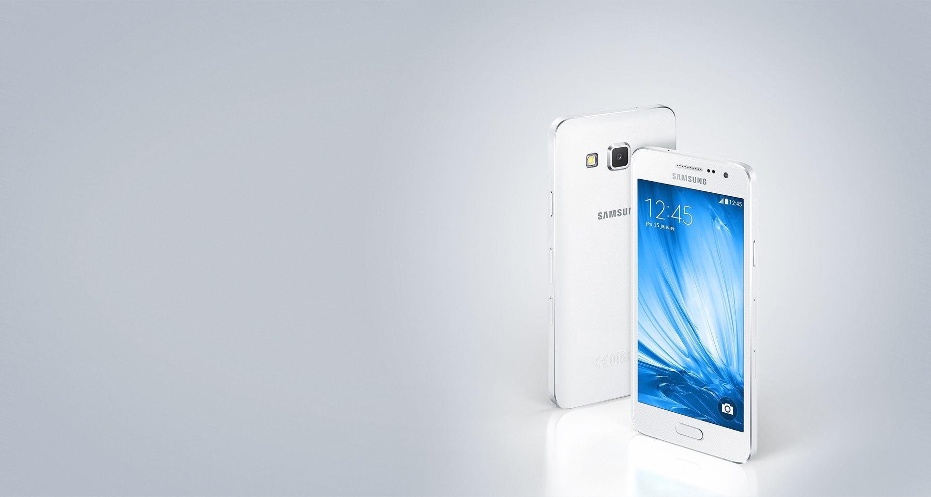 Samsung Galaxy A3 16 Go Double SIM Blanc perle_image_3|Rakuten
