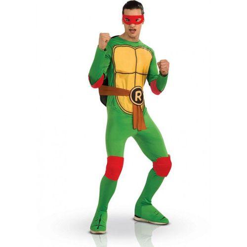 Deguisement Tortue Ninja Raphael Adulte Xl Vert Rakuten