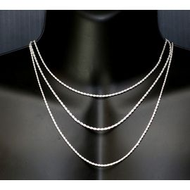 collier femme taille