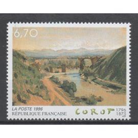 Bicentenaire de la naissance de Jean-Baptiste Corot .Année 1996 n° 2989 Y&T