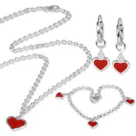 collier coeur pour enfant