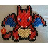 Pokémon Dracofeu Perler Hama