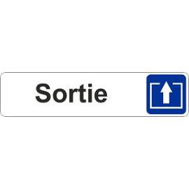 Autocollant Sticker Porte Portail Magasin Bureau Commerce Sortie Panneau