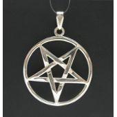 Pendentif en Argent Sterling Massif 925 Pentagramme PE000170 EMPRESS