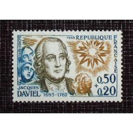 FRANCE N° 1374 neuf sans charnière de 1963 - 50c+20c  « Jacques Daviel (chirurgien) »