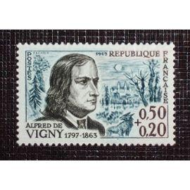 FRANCE N° 1375 neuf sans charnière de 1963 - 50c+20c  « Alfred de Vigny (poète) »