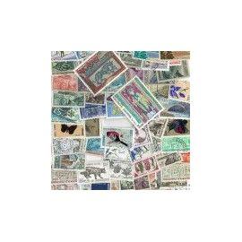 Collection de timbres Andorre Francais oblitérés -  25 timbres différents