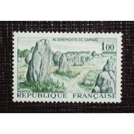 FRANCE N° 1440 neuf sans charnière de 1965 - 1f00 « Alignements de Carnac »