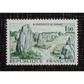 FRANCE N° 1440 neuf avec charnière ou trace de 1965 - 1f00 « Alignements de Carnac »