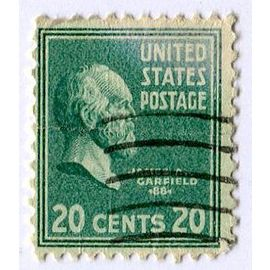 Timbre des USA - United States Postage - 20 cents 20 - Carfield 1881 - (Album C-4).