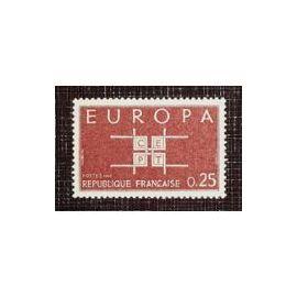 Europa n°1396  1963  25c
