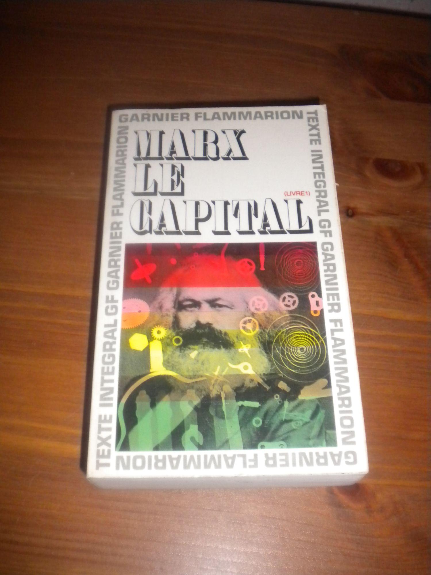 Le Capital ( livre 1 ) de Karl Marx