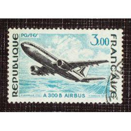 FRANCE N° 1751 oblitéré de 1973 - 3f « A 300 B Airbus »