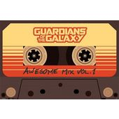 Gardiens de la Galaxie Boutons de Manchette Awesome Mix Tape No 2