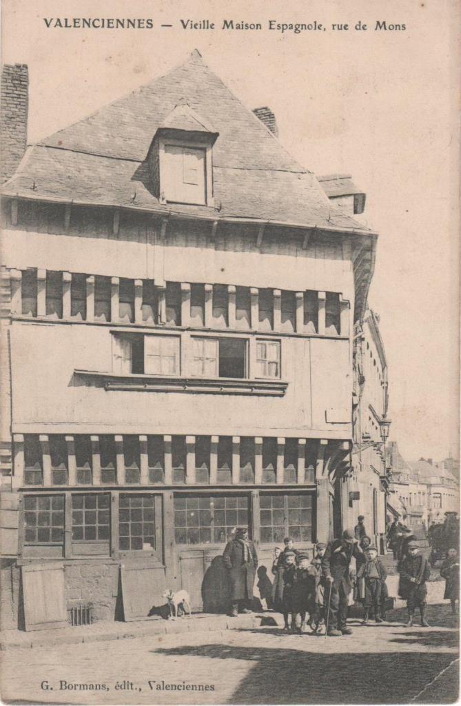 Valenciennes Vieille Maison Espagnole Rue De Mons Rakuten