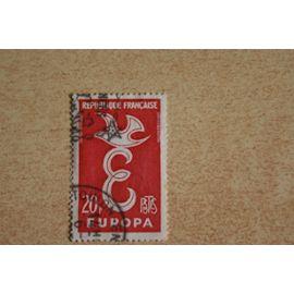 Timbre oblitéré Yt:FR 1173 Europa - C.E.P.T. - FRANCE 1958