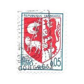 Timbre oblitéré n°1468,année 1966.Armoires d