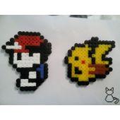 Pokemon Yellow Et Pikachu Pixel Art