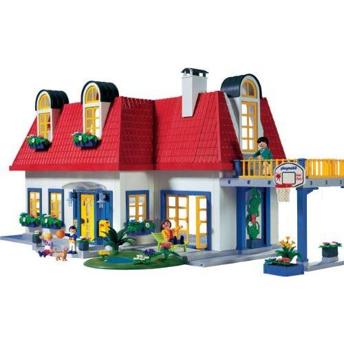 Playmobil Vie En Ville 3965 Maison Contemporaine Rakuten