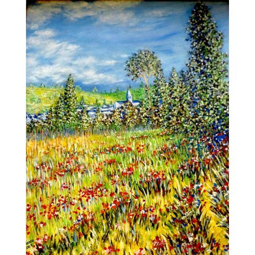 Tableau Paysage Peinture Rakuten