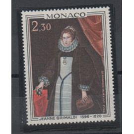 Monaco 1968: deux timbres N° 770 et 771 de la série des Princes et Princesses de Monaco.