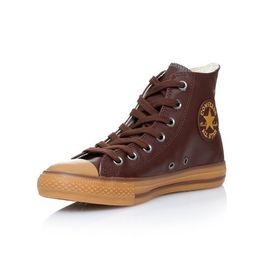 Baskets Converse All Star cuir Marron - | Rakuten