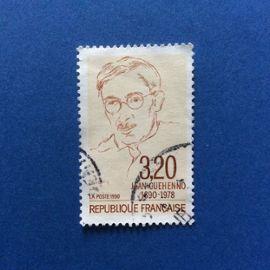France - Jean Guéhenno (Y & T 2641)