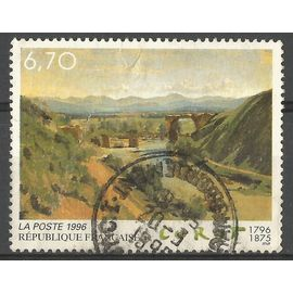 Bicentenaire naissance de Corot - Le pont de narni - YT 2989