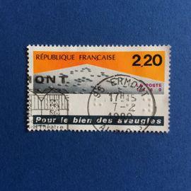 France - Pour le bien des aveugles (Y & T 2562)