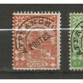 """Algérie-4 timbres sans gomme,3 préos et 1 taxe,""""Type:mosquée""""1926/1944-"""