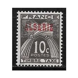 Timbre taxe d