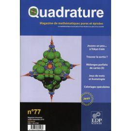 Quadrature N° 77 - Roger Mansuy
