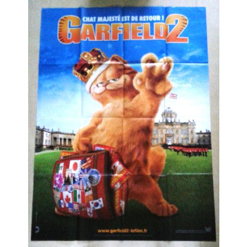 Affiche Originale Cinema Garfield 2 Poster Of The Movie Rakuten