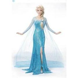 Adulte Robe Elsa La Reine Des Neiges Mode Femme Rakuten