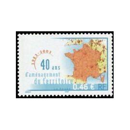 france 2003, très bel exemplaire yvert 3543, 40 ans d