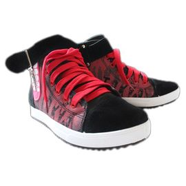 Confortables Chaussures Paire Baskets Rouges Tokyo Ghoul Cosplay qSzVUpM