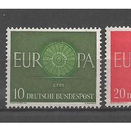 Europa 1960 Allemagne neuf** 1er choix