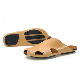 new arrival shoes for cheap lowest price Manuel Tongs Homme Sandales Plage Claquettes Cuir Pédales Chaussures De  Plage Slipper Confortable Pantoufles Antidérapante Chausson Eté Babouche  Nus ...