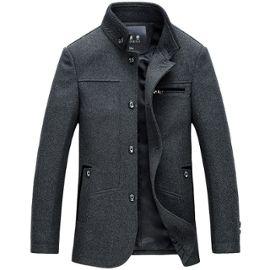 D'affaires Hommes En Trench Homme Épais Coat Hiver Laine Cashmere Duffle Caban Automne Manteau gy76bfY