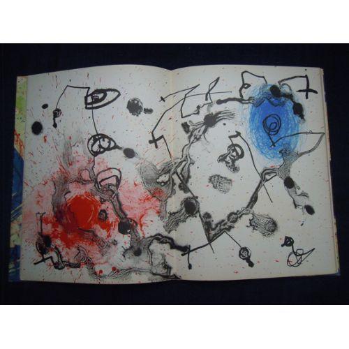 Miro 1959 1960 Album Realise Et Presente Pour L Exposition Des Oeuvres De L Artiste A La Gallery Pierre Matisse New York 31 Octobre 25 Novembre 1961 Rakuten