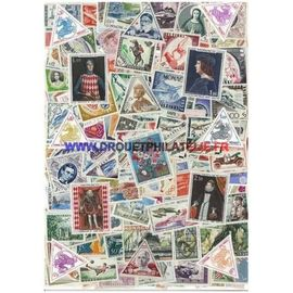 MONACO 50 TIMBRES DIFFERENTS OBLITERES