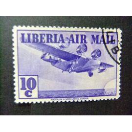 LIBERIA 1938 TRIMOTEUR Yvert nº PA 12 º FU